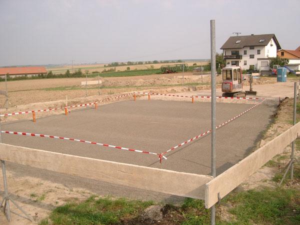 ISOQUICK – Bauverlauf